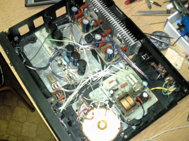 Усилитель мощности для акустики Радиотехника С-30.