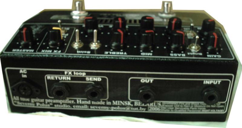 нужна простая схема предусилителя для электрогитары ...